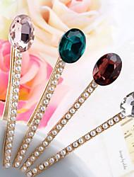 z&x® carpeta palabra de perlas de varias cristal facetado