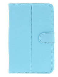 PU Leather Protective Tablet Case(Pure Blue) for Eran Tablet PC