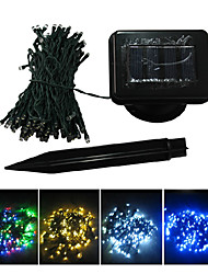 12M Colorful 100-LED String Lights Blue Corn Decorazione di Natale Luce Fata (CIS-57180)