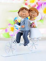 """bolo de coco do """"andar de bicicleta você para sempre"""" bolo topper"""