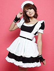 Cute Girl Polyester Maid Suit (4 Pieces)
