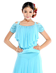 Charming Performance Viscose And Tulle Morden Dance Top For Ladies(More Colors)