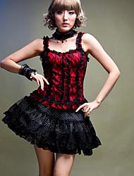 Princess Sleeveless Lace Punk Lolita Tank Top (Waist:66cm)