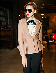 TS Peplum Tweed Short Blazer