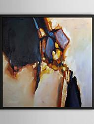 Chapellerie, encadrée résumé peinture à l'huile