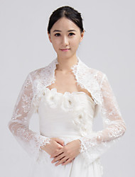 Wedding / Party/Evening / Office & Career / Casual Lace Coats/Jackets Long Sleeve Wedding  Wraps