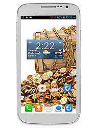 "CUBOT P9 5.0 "" Android 4.2 3G Smartphone (Dual SIM Dual Core 5 MP 512MB + 4 GB Black / White)"