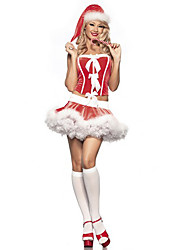 Candy Girl Red Christmas Costume
