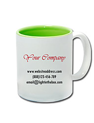 Personalized Business Style Green Mugs