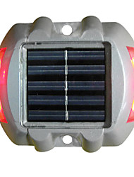 Zonne Deklicht ondergrondse licht, 6PCS super heldere LED, kunststof en aluminium legering