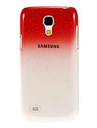 Raindrop Transparent Muster Schutzhülle aus Kunststoff hart zurück Fall für Samsung Galaxy S4 Mini I9190