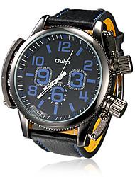 Мужской Армейские часы Кварцевый Японский кварц PU Группа Черный марка