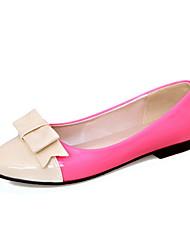Patente couro liso Heel Ballerina Flats (mais cores)