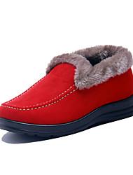 Talon plat en suède Comfort Mocassins Chaussures (plus de couleurs)