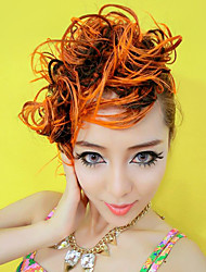 100% Kanekalon Elegante Evidenziato Bang Wig Extension