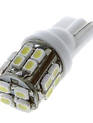 20 1206 SMD LED de voiture T10 168 194 W5W Side Wedge ampoule de lampe blanche