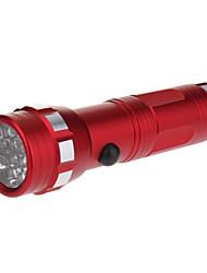 LED-Zaklampen / Handzaklampen LED 1 Mode Lumens 5mm Lamp AAA Dagelijks gebruik - Anderen , Rood Aluminium Legering