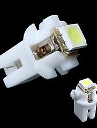 T5 B8.5D 5050 SMD-LED-Anzeige Auto-Light Gauge Speedo Dashboard-Seiten-Innenleuchte Bulb Weiß