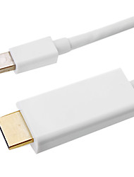Mini DisplayPort мужчина к HDMI V1.4 Женщина кабель (2M)