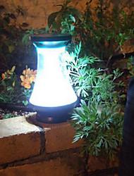 6PCS Super Bright LEDs Solar Fence Post Luz Jardim Luz