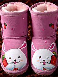 Kids 'Winter Cartoon Rosa Kaninchen Mid-Calf Boots