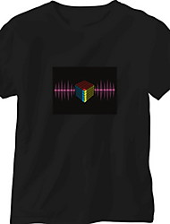 Replacement Sound and Music Activated Spectrum VU Meter EL Visualizer(Non included T-shrit)
