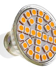 5W GU10 Faretti LED 29 SMD 5050 390-430 lm Bianco caldo AC 220-240 V