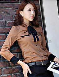 Women's Tops & Blouses , Cotton Casual/Work Woosa