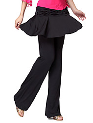 Dancewear Viscose Latin Dance Bottom For Ladies(More Colors)