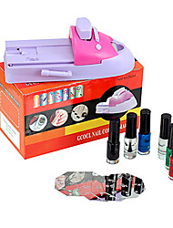 NAILCOLOR DIY Nail Art Varnish Color Printing Machine Kit  NSD001