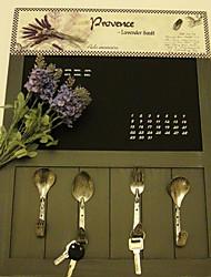 "20.5""Creative Spoon Style Door Hook(4 Hooks)"