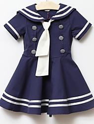 Vestido Estilo Escola da menina