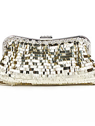 Luxurious Sequins Metal With Rhinestone Clutches/Evening Handbags(More Colors)