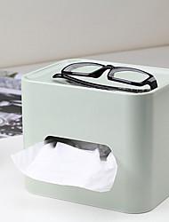 Box moderne de tissu de forme cubique massif