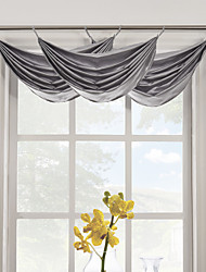 "Contemporain gris massif Cascade Valance 16Wx25 ""L (One Piece)"