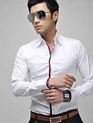 Men's Tops & Blouses , Cotton/Polyester Casual/Work VSKA