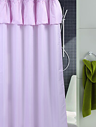 """Shower Curtain Polyester Solid Thick Fabric Water-Resistant W71"""" x L78""""-3 Colours Available"""