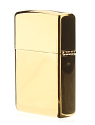 Gold Metal Single Frame Öl leichter