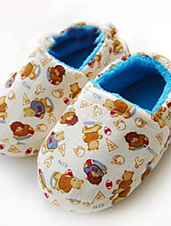 Cute Bear Family Baby Slippers