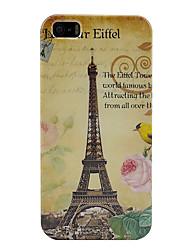 Eiffeltoren plastic geval voor iphone 5/5s