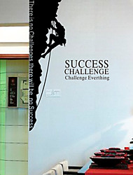 People Climbing Wall Stickers