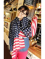 USA vlag Patroon Sjaal