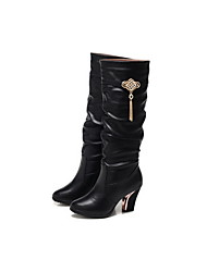 Guciheaven Women's Black Diamond Over The Knee Boots