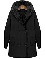 Aesir manteau chaud rembourré épais (Black)