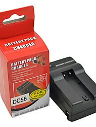 DSTE DC58 Carregador para Minolta NP-700 Samsung SLB-0637 Sanyo DB-L30A Pentax D-LI72 da bateria
