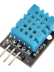 (Para arduino) dht11 compatível módulo sensor de umidade de temperatura digital