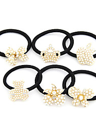 Korean Fashion Süße Kronen-Perlen-Haar-Riegel