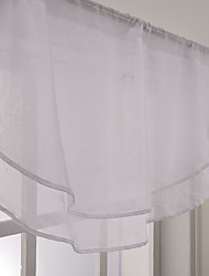 Valance Waterfall Solid , 100% Polyester