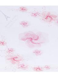 Personnalisé Motif rose Kapok papier pétale Cônes - Ensemble de 12
