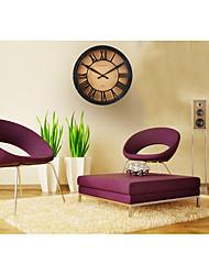15.5H mécanique Ironie style Mute Horloge murale
